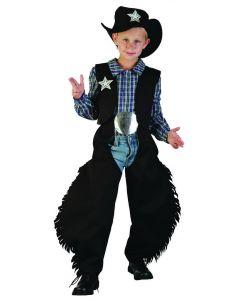 Cowboykostyme - 120-130cm