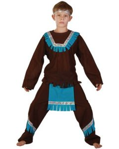 Indianerkostyme  - 120 cm