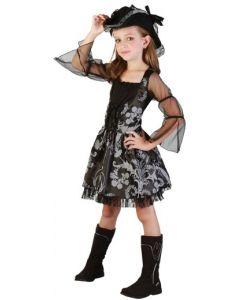 Piratkjole til jente - 130 cm
