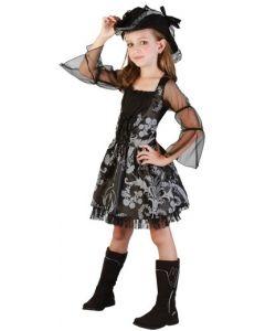 Piratkjole til jente - 120 cm