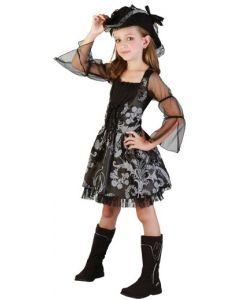 Piratkjole til jente - 110 cm