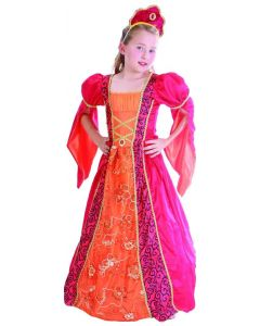 Prinsessekostyme - 120 cm