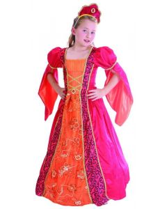 Prinsessekostyme - 110 cm