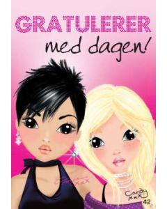 TOPModel Postkort