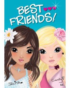 TOPModel Postkort - Best Friends