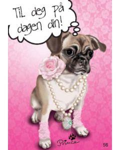 TOPModel Postkort - Til deg på dagen din