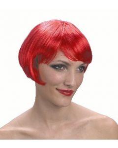 Parykk rød supermodell
