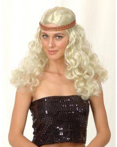 Partyparykk Blond