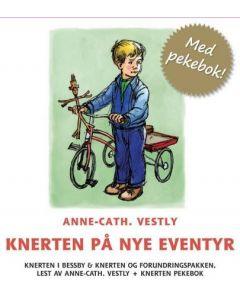 Knerten på Nye Eventyr - 8 CD pluss Pekebok