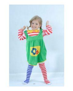 Pippi-kostyme 80-92 cm
