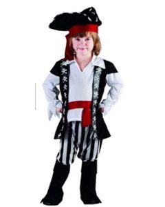Piratkostyme  80-92cm