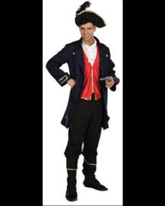 Pirat Kaptein drakt - Voksen størrelse