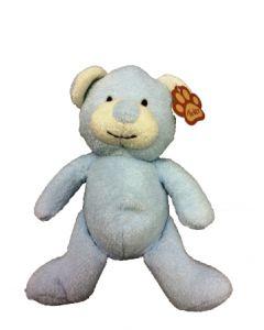 Tinka Kosebamse - lyseblå bamse - 18 cm