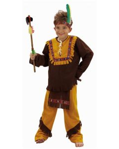 Indianerguttkostyme 110-120cm