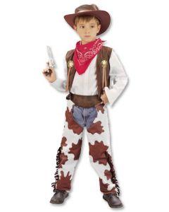 Cowboykostyme 110-120cm