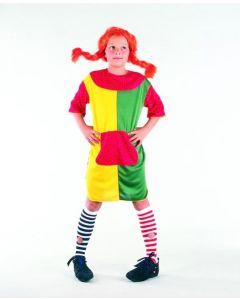 Pippi-kostyme - 120-130cm