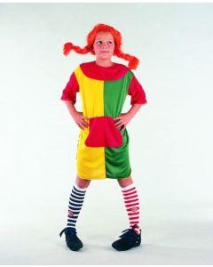 Pippi-kostyme - 110-120cm