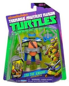 Turtles Ninja Basic Action figure - Leo the Knight