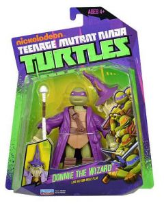 Turtles Ninja Basic Action figure - Donnie the Wizard