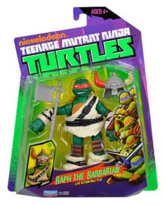 Turtles Ninja Basic Action figure - Raph the Barbarian