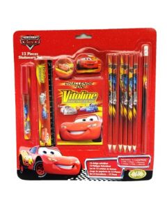 Disney Cars Tegne- og skrivesett i 12 deler