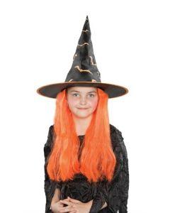 Heksehatt - oransje