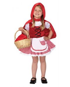 Rødhette-kostyme 80 cm