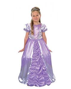 Prinsesseballkjole Lilla - 116 cm