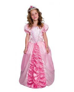 Prinsesseballkjole Rosa - 116 cm