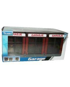 Garasje til biler - skala 1:48