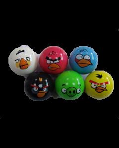 Poppers med ansikter - assorterte farger