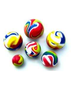 Sprettball flerfarget - 4,90 cm
