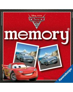 Memoryspill Disney Cars 2