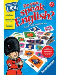 Do you speak english? lærespill