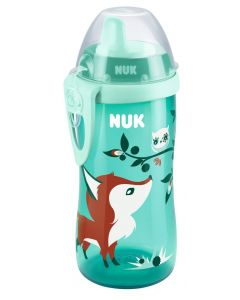 NUK Kiddy Cup med belteklips 300ml