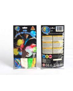 Ballonger flerfarget LED - 5 pakning