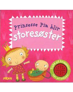 Prinsesse Pia blir storesøster med lyd