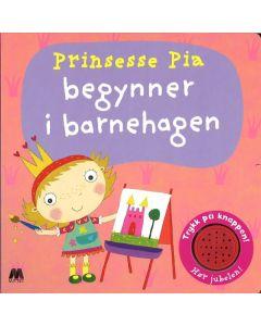 Pekebok med lyd prinsesse Pia begynner barnehagen