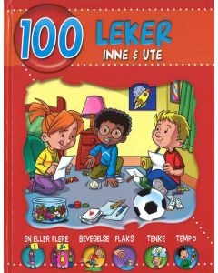Bok - 100 leker inne & ute