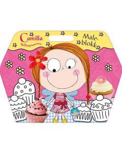 Camilla muffinsprinsessen maleblokk