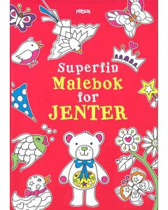 Superfin malebok for jenter