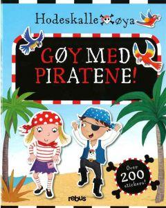 Aktivitetsbok Gøy med piratene! med over 200 klistremerker