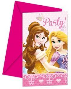 Disney Princess Invitasjoner