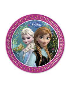 Disney Frozen Tallerken  - 23 cm