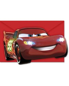 Disney Cars Invitasjoner