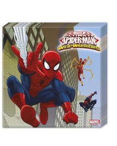 SPIDER-MAN servietter  - 33 x 33 cm