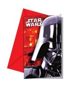 Star Wars Invitasjoner