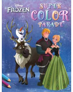 Malebok Disney Frozen super color
