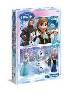 Clementoni Disney Frozen puslespill - 2 in 1