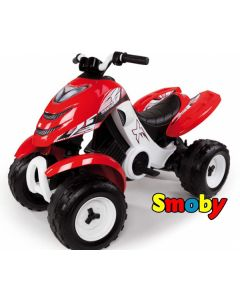 Smoby Xpower - batteridrevet 4-WD ATV for barn